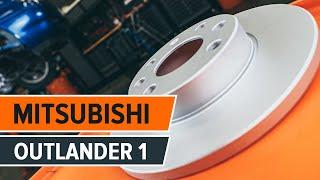 Comment changer Filtre climatisation MITSUBISHI OUTLANDER I (CU_W) - video gratuit en ligne