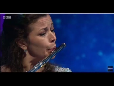 Newsnight Proms Preview - flutist Emily Beynon