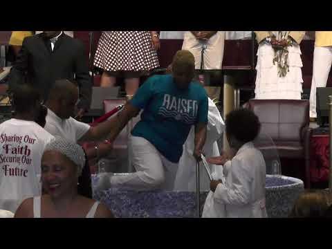 New Prospect Baptist Church Baptism Ceremony, 7-1-2018