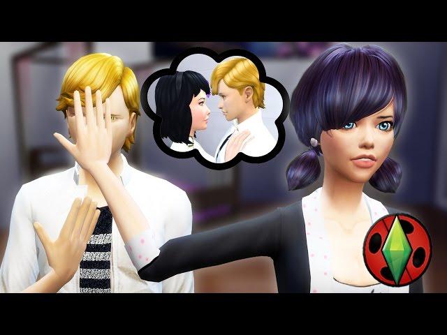 ¿¡ADRIEN LE ES INFIEL A MARINETTE?! ???? | SIMS 4 - LADYBUG | PARTE 44