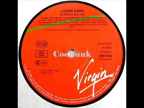 Loose Ends The Sweetest Pain 1985 Youtube
