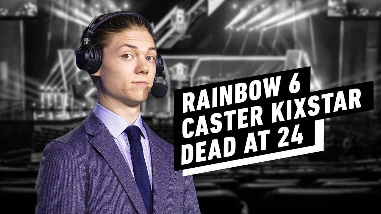 Rainbow Six Siege caster Michael 'KiXSTAr' Stockley dies at 24