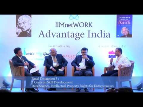 Panel Discussion : 2 Cents on Skill Development Data Science for Entrepreneurs : IIMnetWORK