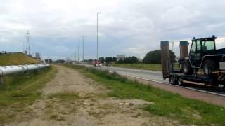PRIMEUR zonale tankwagen malle komt aan bij zeer grote brand antwerpen
