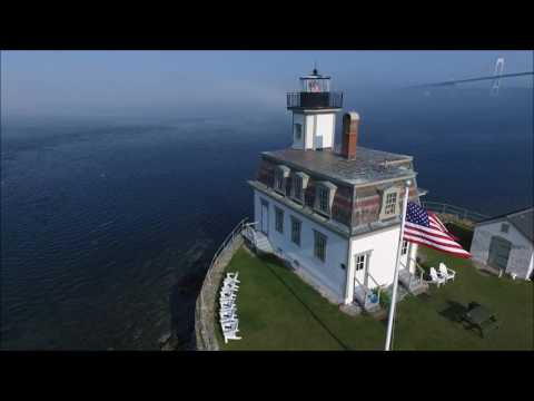 Rose Island Lighthouse Tower