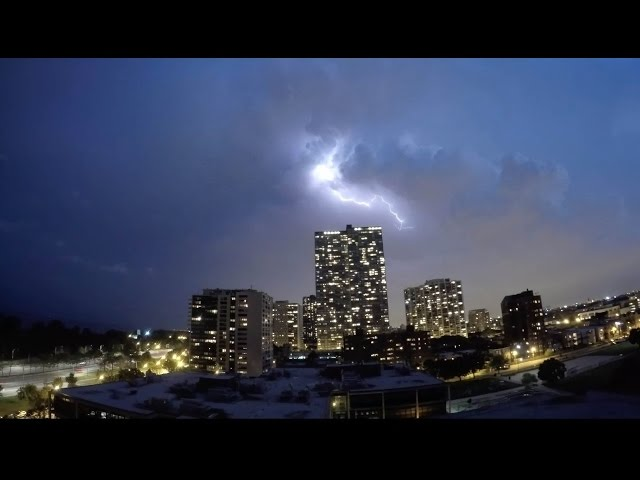 Incredible Time Lapse Video Of Chicago Lightning Storm