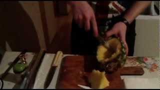 Как приготовить кальян на ананасе. (видео урок)