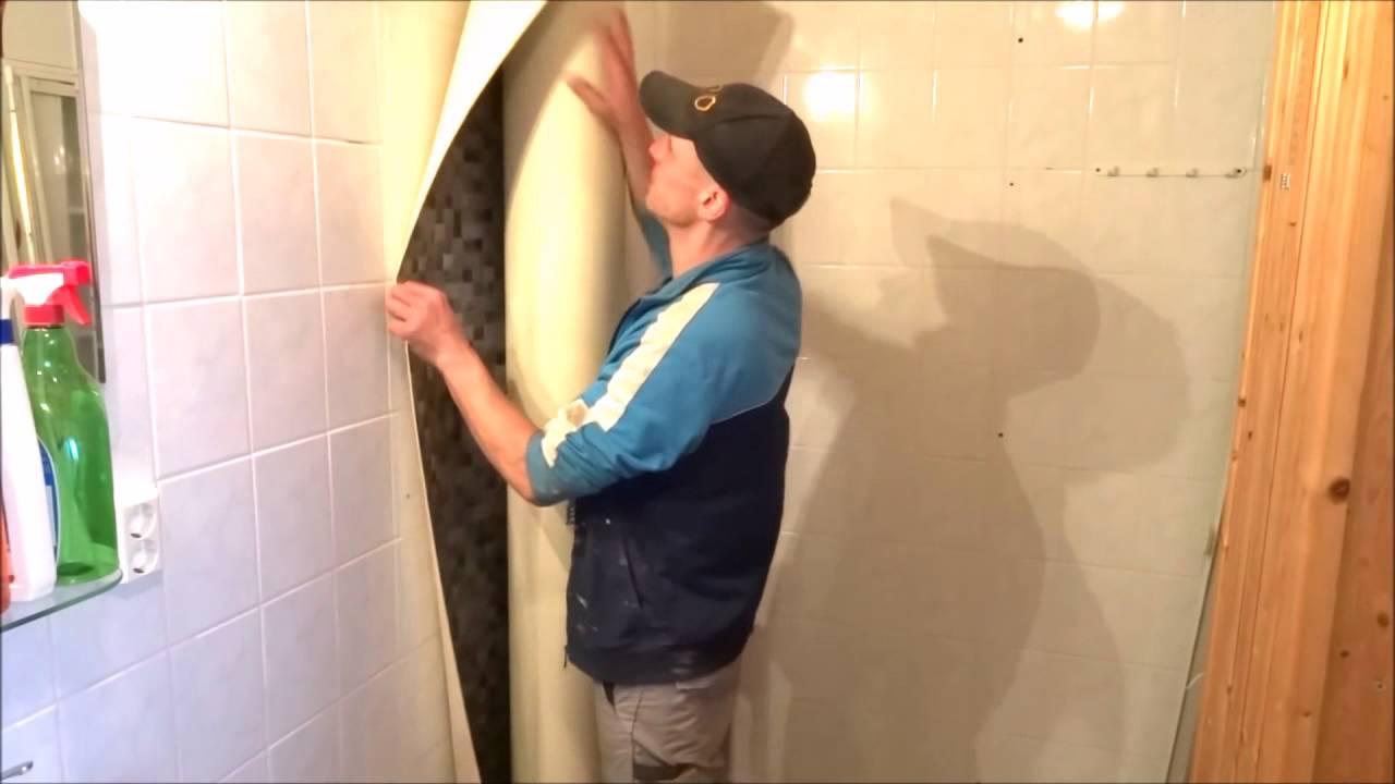 Panel łazienkowy Pcv Renowacja Na Płytkach Ceramicznych