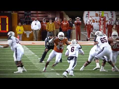 Highlights of Texas DE Jackson Jeffcoat who signed with Seattle [May 10, 2014]