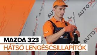 Hogyan cseréljünk Gólyaláb MAZDA 323 F VI (BJ) - video útmutató