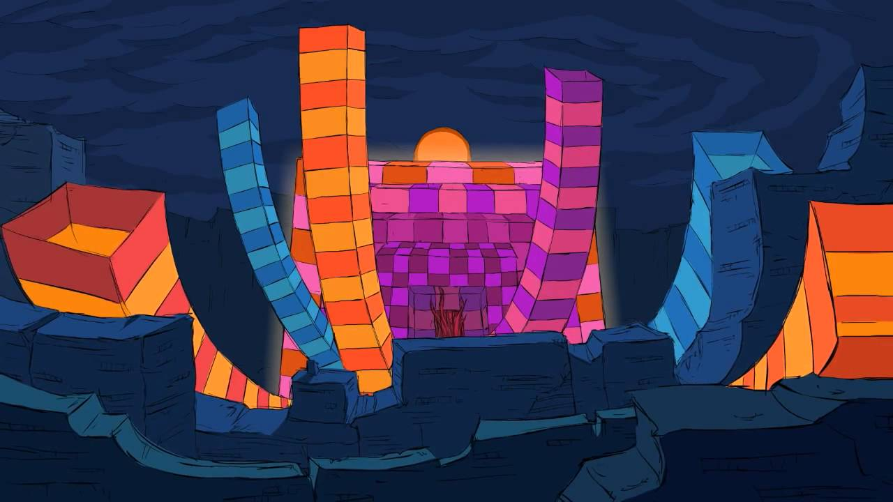 Awesome Psychedelic Animation By A F Schepperd Song The Music Scene By Blockhead Youtube