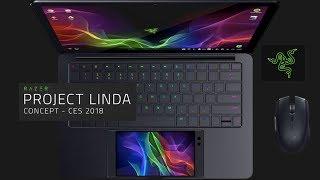 CES 2018-Project Linda de RAZER. Convierte tu móvil en un portátil.