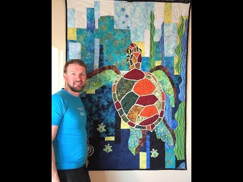 Laura Heine Collage Seawell Sea Turtle