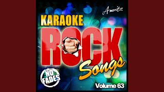 These Hard Times (In the Style of Matchbox 20) (Karaoke Version)