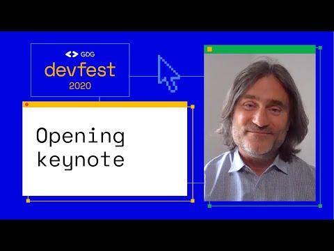 DevFest 2020 Keynote with Jason Titus