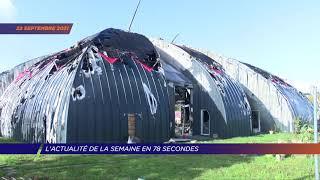 Yvelines | L'actu de la semaine en 78 secondes (du 20 au 24 septembre 2021)