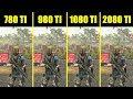 The Division 2 RTX 2080 TI Vs GTX 1080 TI Vs GTX 980 TI Vs GTX 780 TI Comparison