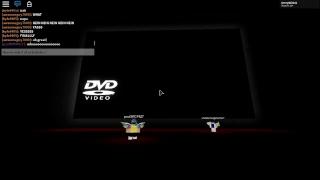 DVD SCREENSAVER HIT THE CORNER??? (Roblox)