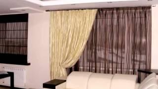 Шторы для зала и гостиной. Наши работы. Салон штор Актуаль в Балашихе.