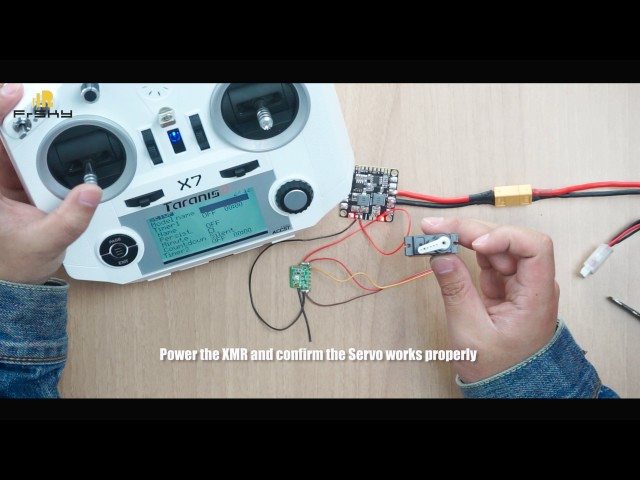 FrSky tutorial video - XMR mini receiver