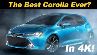 2019 Toyota Corolla Hatchback (aka Auris) Review - First Drive