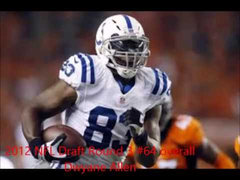Colts NFL Draft 3rd Rounders 2005-2014