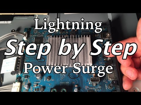 How to Fix a TV Hit By Lightning or Power Surge - YouTube