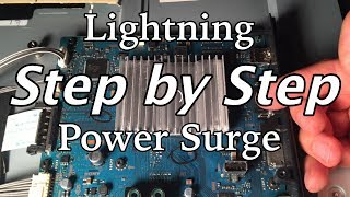 How to Fix a TV Hit By Lightning or Power Surge