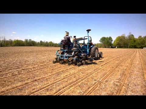 Planting Replicated Yield Trial at Seymour, Indiana