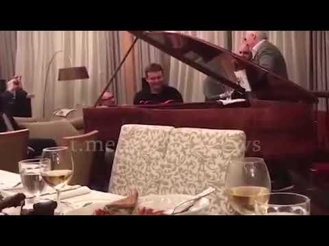 Премьер-министр России Михаил Мишустин наслаждается Армянской песней. Валерия Меладзе