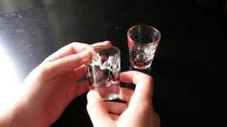 Racist Shot Glasses Racism in America Old Antiques Black Americana Ethnic Discrimination