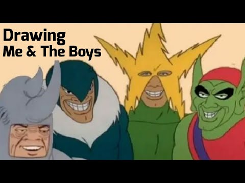 Me And The Boys Gets Drawn