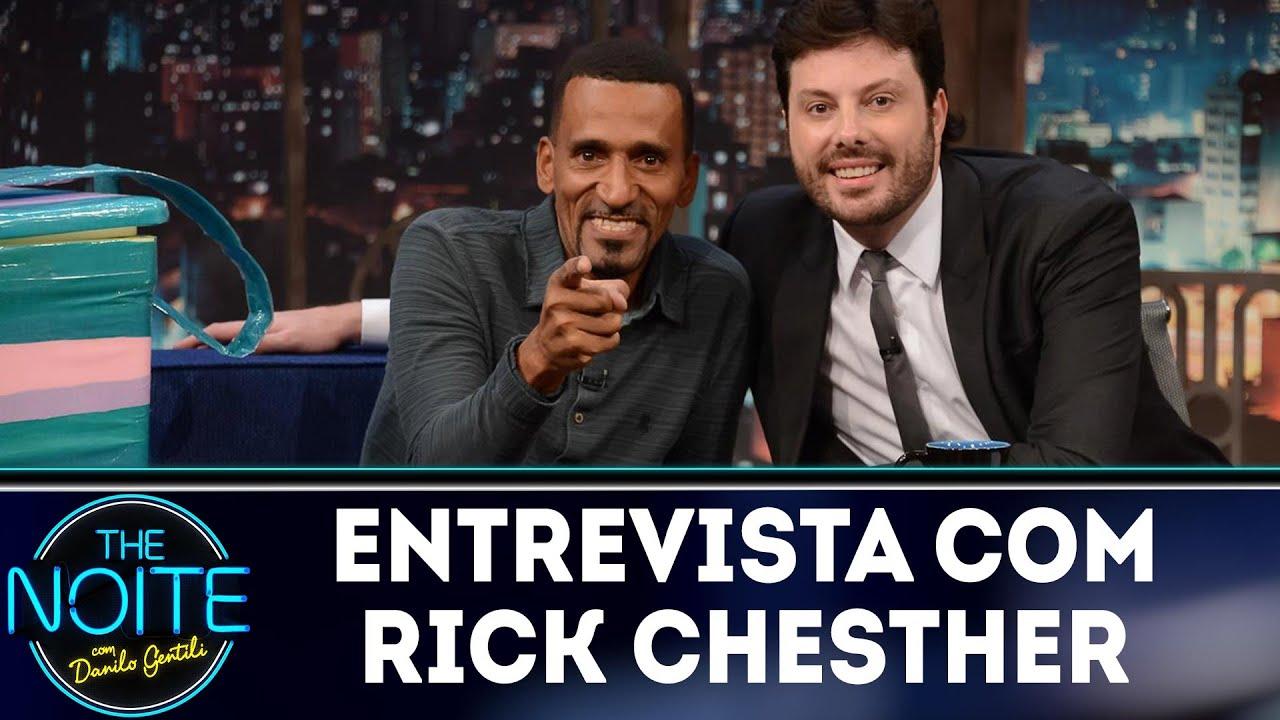 Entrevista com Rick Chesther | The noite (23/10/18)