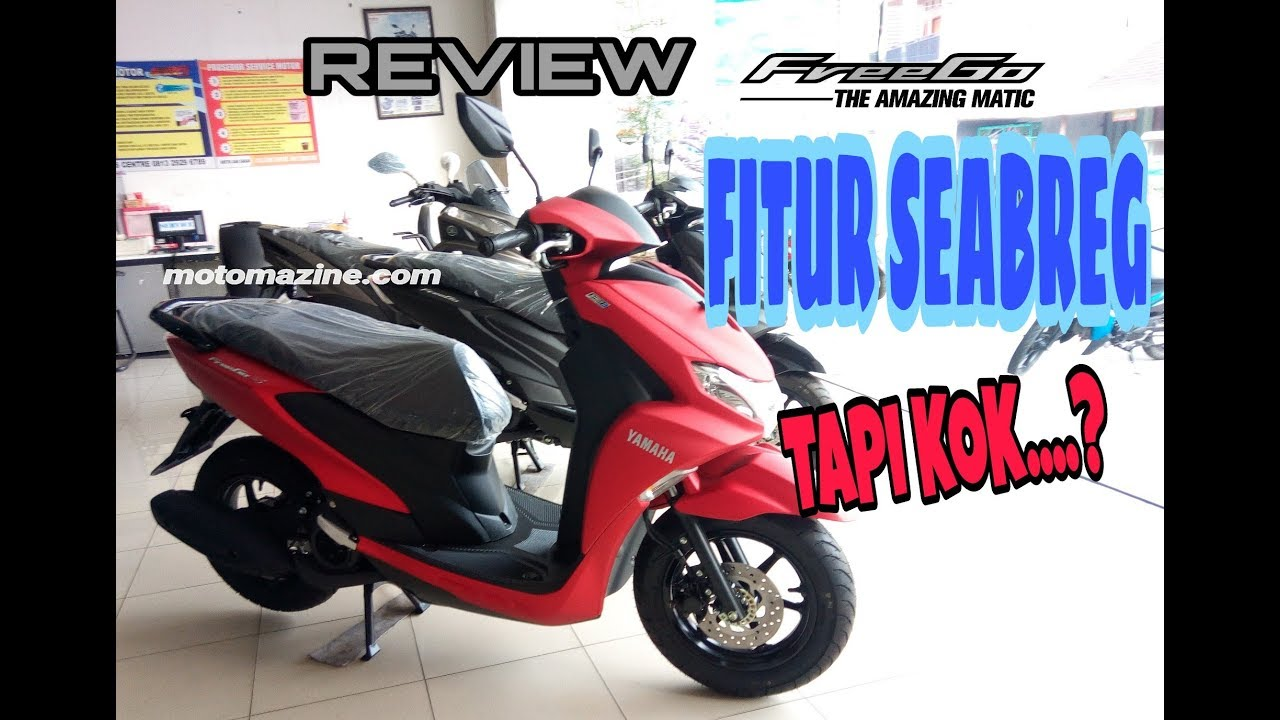 Review Lengkap Si Unik Yamaha FreeGo. Simak Sebelum