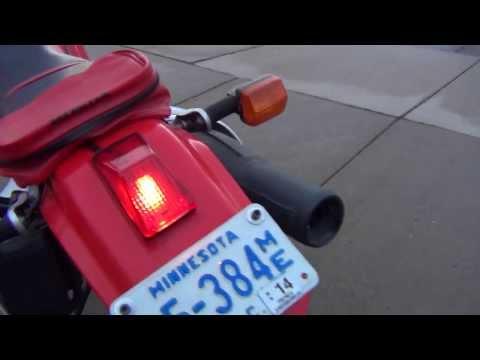 Honda XR650L Mods: ke Light Replacement - WPS Tail Light ... on