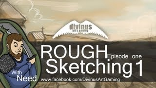 ROUGH  S k e t c h i n g  - environment concept (Episode one)