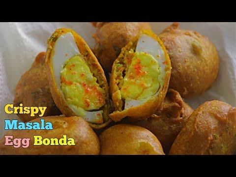 Street food Style Egg ? Bajji / Egg bonda Recipe by Vismai food/ egg bajji recipe at home