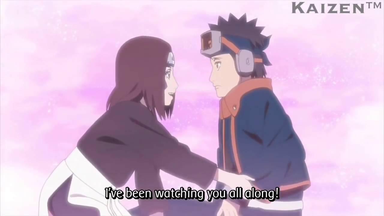 Obito meets Rin again Naruto Shippuden Episode 472 English Sub Scene HD