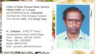 LISTEN fusion music Indian Carnatic NINNU KORI Varnam