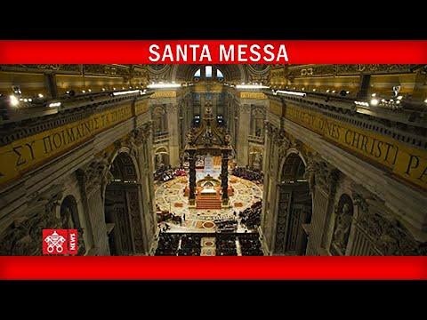 Santa Messa nella Solennità dei Santi Pietro e Paolo Apostoli 29 giugno 2020 Papa Francesco