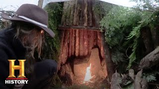 Alone: Brooke Builds a Fireplace (Season 4, Episode 2) | History