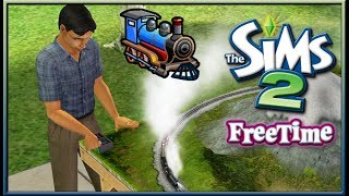 I Like Trains. | The Sims 2: Free Time #ThrowbackThursday