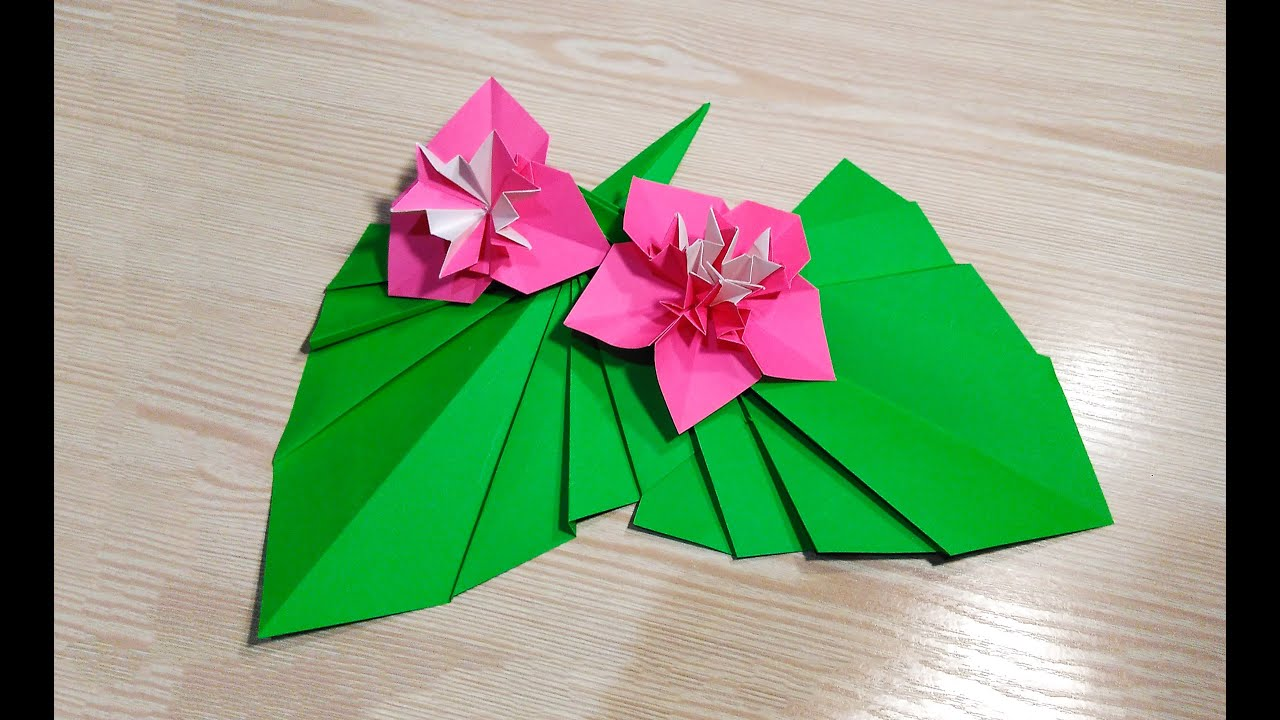 Origami leaf for decor easy way to decorate your room for Decoration origami