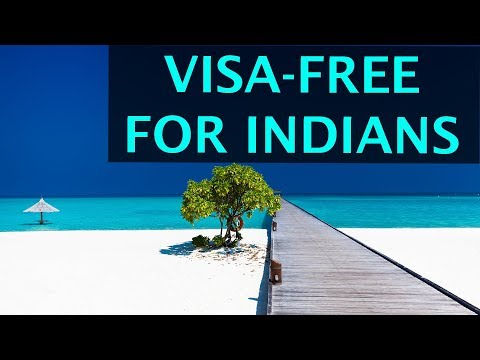 Visa-free BEACH COUNTRIES and ISLANDS for Indian Passport Ho