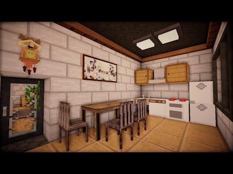 Интерьер в Minecraft: Строительный Креатив - Серия 4 часть 2