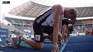 Ramıl Guliyev 100m Men's  ISTAF Berlin World Challenge 2017