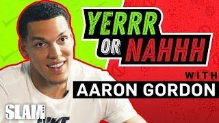 Aaron Gordon's Back in the 2020 Dunk Contest? GIMME DAT 😈 | SLAM YERRR or NAHHH