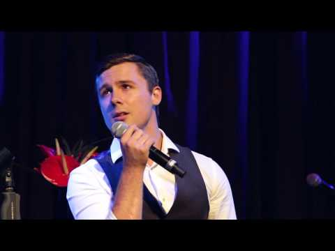 DannyBoy Hatchard sings 'It's Good to See You Again' at the Hippodrome on September 16th, 2015.