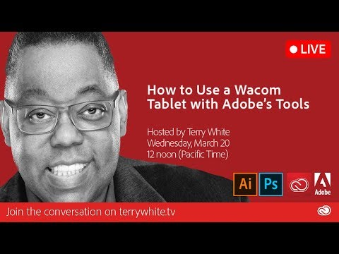 How to Use a Wacom Tablet with Adobe's Tools
