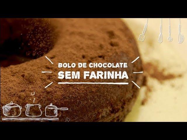 Bolo de Chocolate Sem Farinha - Sabor com Carinho (Tijuca Alimentos)